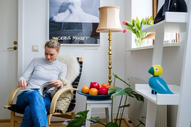 Living room and Sensative Strips Comfort