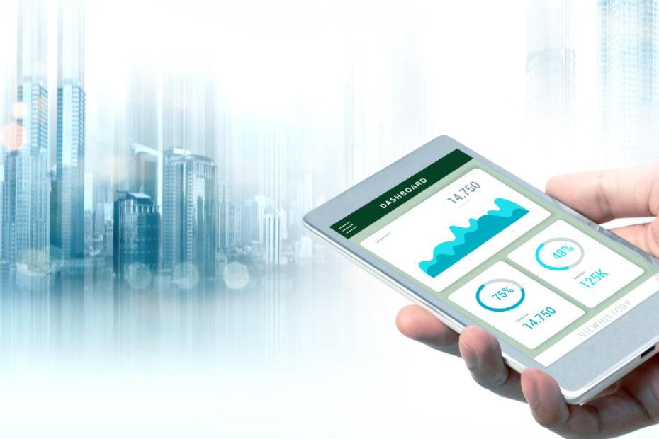 smart city mobile dashboard