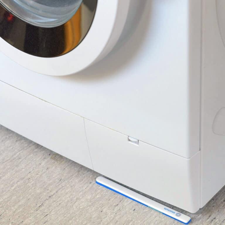 strips drip under washing machine